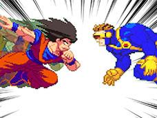 Goku VS Street Fighter & Super Heroes | 2015-2017